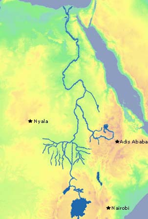 My Science Class  ES Session 2 The Watershed Where Does the Nile